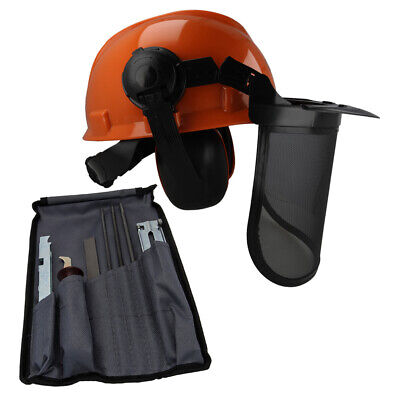 £26.05 • Buy Chainsaw Safety Helmet & File Saw Chain Sharpening Kit Suit HUSQVARNA Users