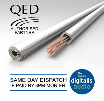 $ CDN10.36 • Buy QED Performance XT25 Oxygen Free Copper Speaker Cable Per Metre Unterminated