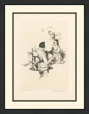 $ CDN3686.85 • Buy Norman Rockwell  The Teacher  1974 | Rare Signed Print | Framed | Others Avail