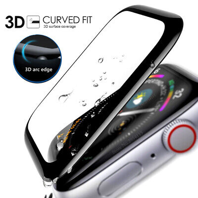 $ CDN3.97 • Buy Apple Watch IWatch Series 4 3 2 Full Tempered Glass Screen Protector 40 44mm /ED