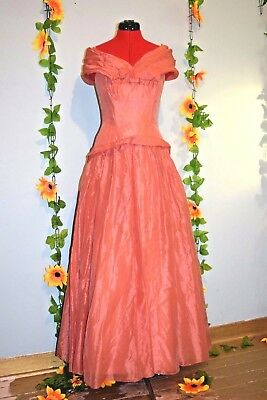 £100 • Buy Genuine 1950s Hieress  Beautiful Evening Gown Prom