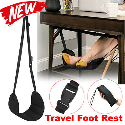 AU8.49 • Buy Travel Foot Rest Footrest Leg Pillow Flight Memory Foam Cushion Hammock