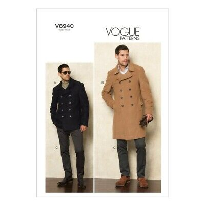 £19.50 • Buy Vogue Sewing Pattern V8940 Men's Jacket And Trousers