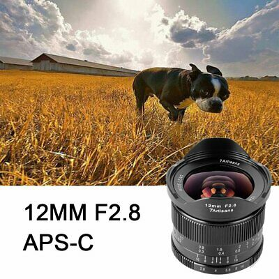 $ CDN265.98 • Buy 7 Artisans 12mm F2.8 APS-C Manual Focus Wide Angle Prime Lens For Sony A6500