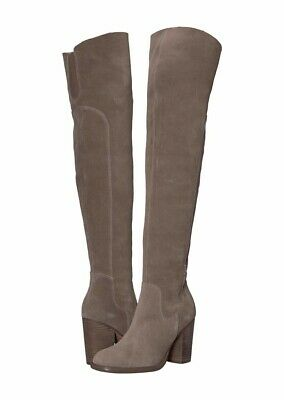 $ CDN165.41 • Buy Kelsi Dagger Brooklyn Logan Warm Grey Suede Boots Women's 8.5 M