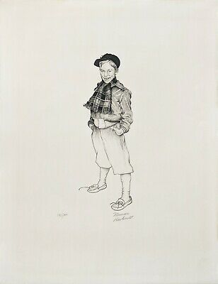 $ CDN3266.83 • Buy Norman Rockwell  Jerry  1971 | Rare Hand Signed Print | Make An Offer | Gallart