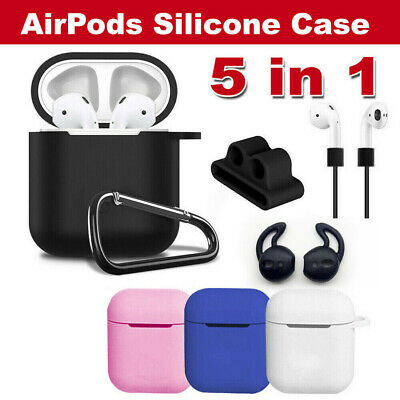 AU5.49 • Buy Strap Holder & Silicone Case Cover Skin For Apple Airpod Accessories Airpods AU