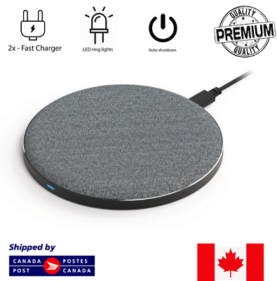 $ CDN14.99 • Buy Wireless Fast Charger Qi Charger For Samsung Galaxy S6 S7 S8 IPhone 8 X/XS/XR