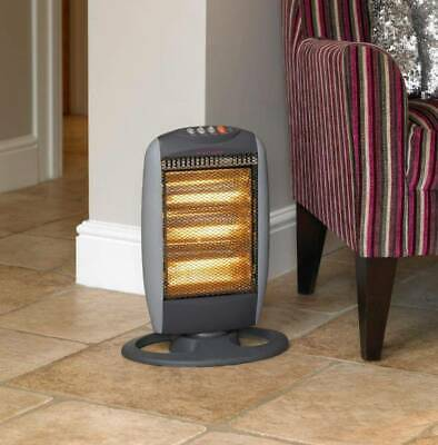 £17.10 • Buy Limitless 1200W Oscillating Halogen Heater With 3 Heat Settings