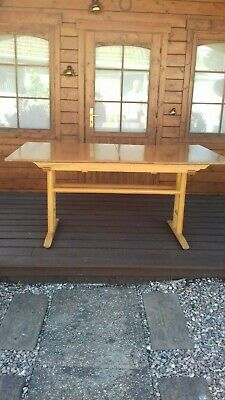 Ercol Extending Table And Six Chairs  Good/very Good Used Condition • 520£