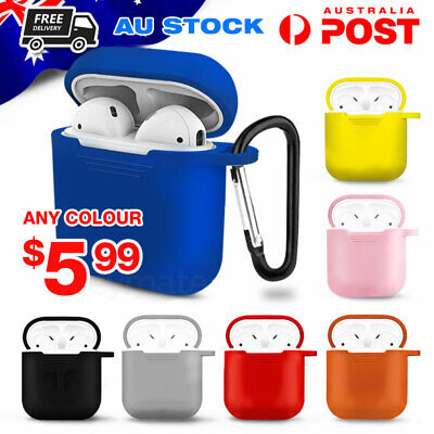 AU4.50 • Buy AirPods Cases - Silicon Protective Cover