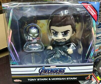 $ CDN30.42 • Buy Hot Toys Marvel Avengers Endgame Tony Stark & Morgan Stark Cosbaby Set COSB657