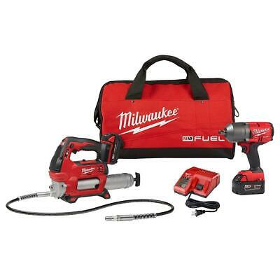 $549 • Buy Milwaukee 2767-22GG M18 FUEL 18V 1/2  Friction Ring Impact Wrench W/ Grease Gun