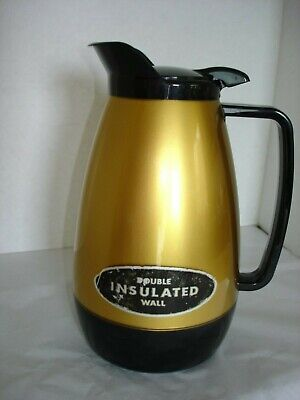 AU16.75 • Buy West Bend Thermo-Server Gold Double Insulated Wall 32oz.Carafe Coffee Server