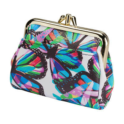 $12.99 • Buy Buxton Butterfly Snap Coin Purse, Multi
