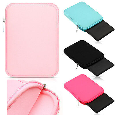 AU5.61 • Buy Universal Zip Soft Sleeve Pouch Portabe Carry Bag Case Cover For 7  - 8  Tablet