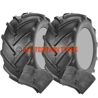 18x8.50-8 Ride On Lawn Mower Chevron Tractor Agri Tread  TYRES & TUBES  18 850 8 • 114.90£