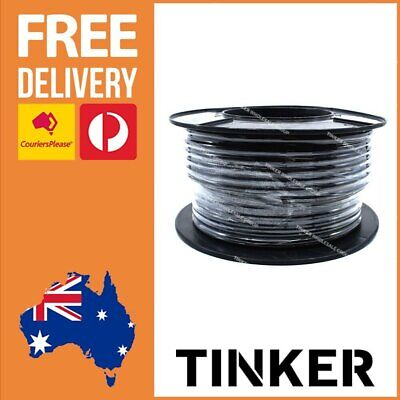 AU243.13 • Buy 6 B&S Twin Core Battery Cable 30 Metres - 6 B S Cable Twin Core 30m Aussie Made
