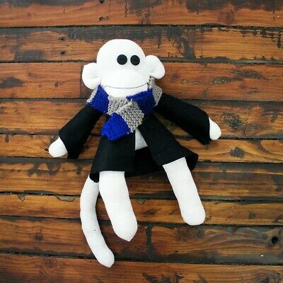 Wizard Sock Monkey MADE TO ORDER Handmade Unique Christmas Gift Idea Plush  • 25£