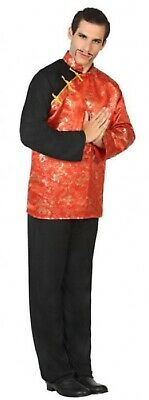 Mens Oriental Chinese Japanese International Fancy Dress Costume Outfit M-XL • 22.99£