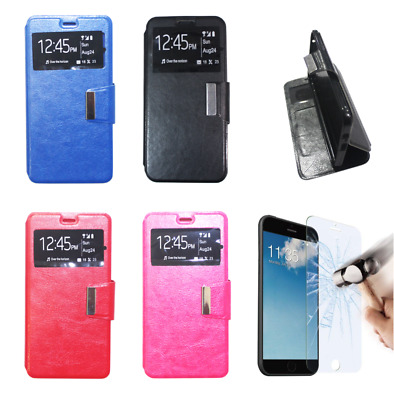 $ CDN9.16 • Buy Leather Case Cover Flip Support For Sony Xperia XA2 (4G) 5.2