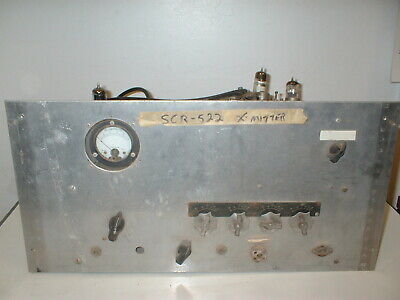$65 • Buy Vintage Military Scr-522 Signal Corps  Bc-625a Radio Transmitter