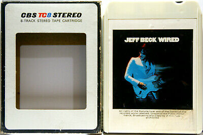 AU24.95 • Buy JEFF BECK Wired  8 TRACK CARTRIDGE
