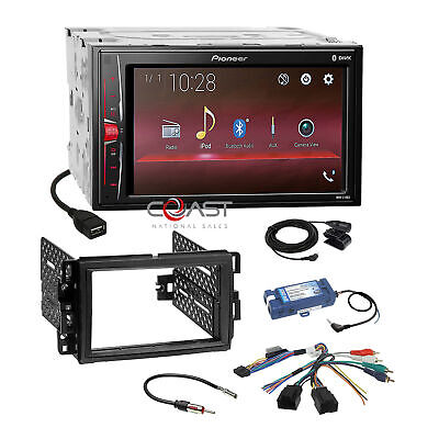 $284.95 • Buy Pioneer BT Camera Ready Stereo Dash Kit SWC Amp Harness For GM Buick Chevrolet