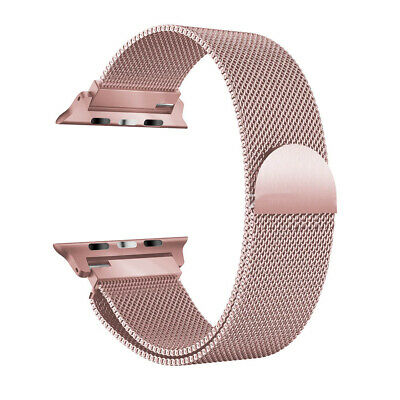 AU10.49 • Buy Metal Stainless Milanese Mesh Loop Magnetic Band For Apple Watch 38/42mm 40/44mm