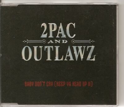 £9.99 • Buy 2PAC AND OUTLAWZ Baby Don't Cry 4 Track EURO CD SINGLE