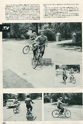 $ CDN4.83 • Buy CLINT EASTWOOD Shirtless On Bicycle 1963 Vintage Japan Picture Clipping Yd/q