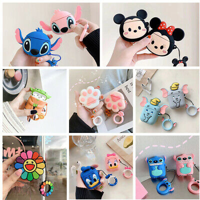 $ CDN5.72 • Buy 3D Case Cute Fruit Animal Cartoon Airpods Shockproof Earphone Cover For AirPods