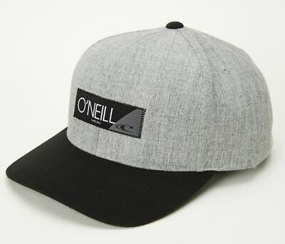 $14 • Buy O'Neill RIDGE Mens Wool Blend Adjustable Snapback Hat Heather Grey NEW