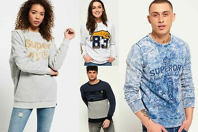 View Details New Superdry Sweatshirts Selection For Men And Women - Various Styles & Colours  • 16.99£