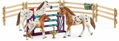 Schleich 42433 Lisa's Tournament Training Appaloosa Set Toy Figurines 2018 - NIP • 21.70£