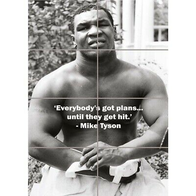 Mike Tyson Boxing Legend New Giant Wall Art Picture Print Picture Poster • 12.99£