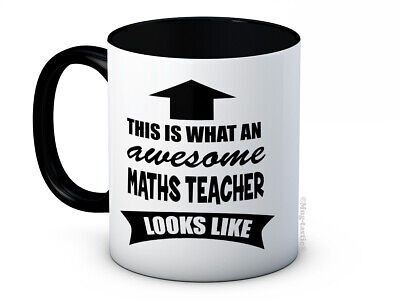 £7.99 • Buy This Is What An Awesome Maths Teacher Looks Like - Quality Ceramic Coffee Mug
