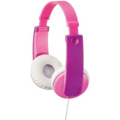 JVC HAKD7/PINK Tiny Phones Kids Stereo Adjustable 0.8m Wired Headphones - Pink • 18.59£