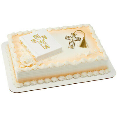 Cake Toppers Bible Cake Topper Set With Bookmark • 7.15£