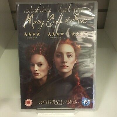 Mary Queen Of Scots DVD - New And Sealed Fast And Free Delivery • 9.75£