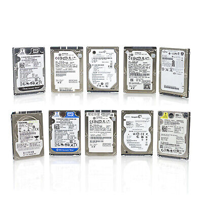 $ CDN80.37 • Buy Lot Of 10 Assorted Brand 2.5  80GB 5400RPM 1.5Gbps 8MB SATA Laptop Hard Drive