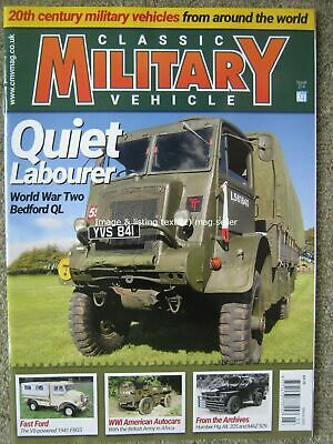 £4.99 • Buy Classic Military Vehicle March 2019 Bedford QL Ford F8GS American Autocars Pig