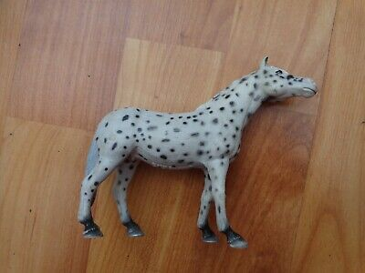 5  Schleich Retired 2006 Knabstrupper Mare Leopard Appaloosa 13617 Horse Figure • 8.99£