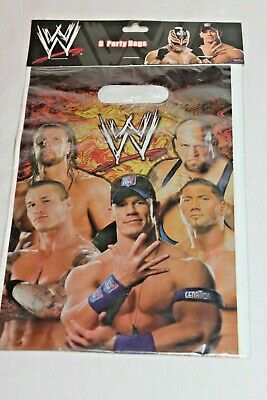 Wwe Wrestling 8 Party Bags Plates Party Supplies • 2.30£