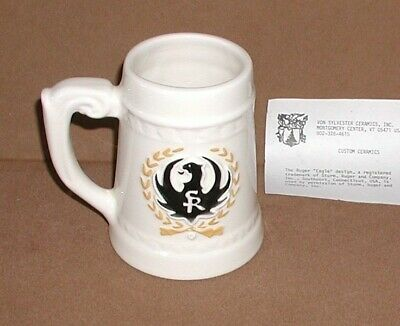 $ CDN71.87 • Buy RUGER - RCA - RUGER COLLECTORS ASSOCIATION BEER STEIN - BLACK - 1980's