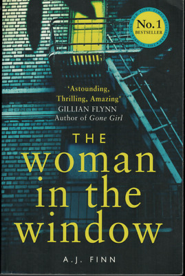 AU19.95 • Buy The Woman In The Window ; By A.J. Finn - Large Paperback Book, 2018