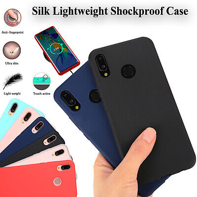 Matte Soft Silicone Case TPU Shockproof Cover Skin For Huawei P20 P30 Lite & Pro • 2.78£