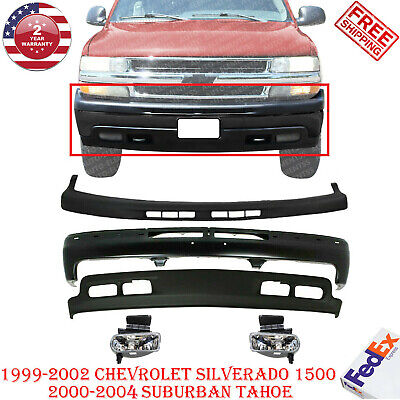 $330.56 • Buy Front Bumper Primed Steel Kit For 1999-2002 Chevy Silverado 1500 Tahoe Suburban