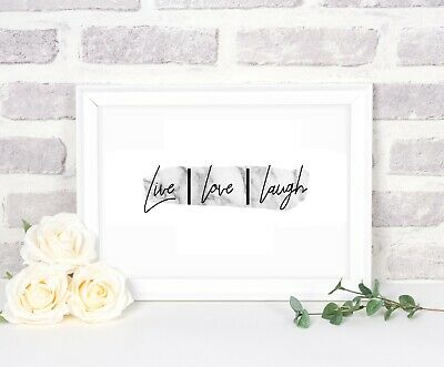 Wall Prints, Wall Art Prints, Quotes, Typography, Quote Prints • 4£