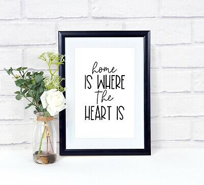 Wall Prints, Wall Art Prints, Quotes, Typography, Home Prints • 4£